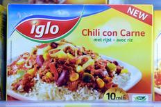 Nomad Holdings a conclu le rachat d'Iglo Foods Holdings, le numéro un européen des produits alimentaires surgelés, pour environ 2,6 milliards d'euros à une société liée au groupe de capital-investissement Permira. /Photo d'archives/REUTERS/Eric Vidal