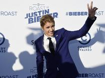 Singer Justin Bieber poses during Comedy Central Roast of Justin Bieber at Sony Studios in Culver City, California March 14, 2015.  REUTERS/Kevork Djansezian
