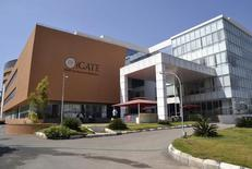 A view shows the Indian headquarters of iGate in the southern Indian city of Bangalore February 4, 2013. REUTERS/Stringer