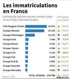LES IMMATRICULATIONS DE VOITURES NEUVES EN FRANCE