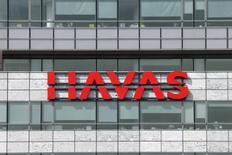 Havas a fait état d'une solide progression de ses revenus au premier trimestre, dopé par le redressement de ses activités en Amérique du Nord et par la baisse de l'euro. /Photo d'archives/REUTERS/Benoît Tessier