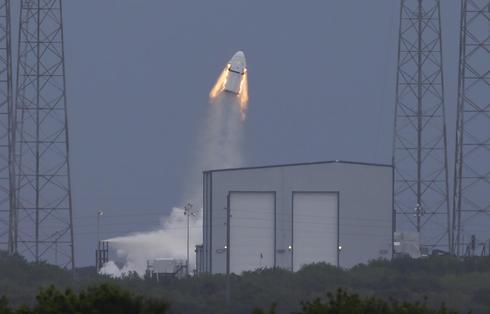 SpaceX Dragon test run