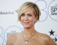 File photo of actress Kristen Wiig arrives at the 2015 Film Independent Spirit Awards in Santa Monica, California February 21, 2015.  REUTERS/Danny Moloshok