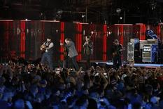 File photo of the Zac Brown band performing during The Concert for Valor on the National Mall on Veterans' Day in Washington, November 11, 2014.               REUTERS/Gary Cameron