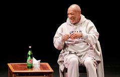 Comedian Bill Cosby performs at The Temple Buell Theatre in Denver, Colorado in this file photo from January 17, 2015.  REUTERS/Barry Gutierrez