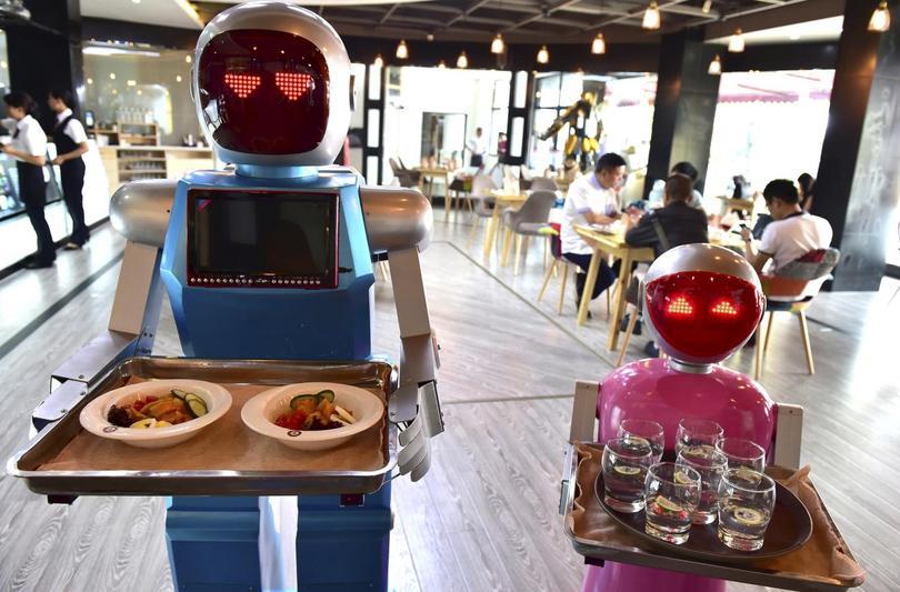 robot helpers. Black Bedroom Furniture Sets. Home Design Ideas