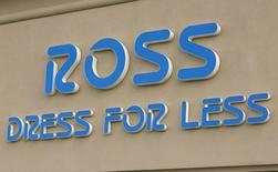 The sign outside a Ross store is seen in Broomfield, Colorado February 27, 2014.  Ross Stores, Inc. will announce their quarterly results on Thursday. REUTERS/Rick Wilking