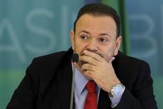 Ministro da Secretaria de Comunicação da Presidência, Edinho Silva. 31/03/2015 REUTERS/Ueslei Marcelino