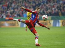 Thomas Mueller, do Bayern de Munique. 28/04/2015  REUTERS/Kai Pfaffenbach