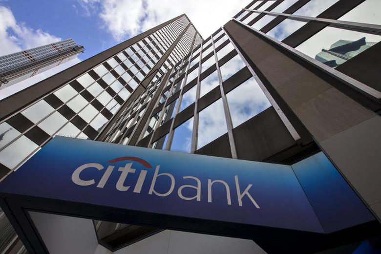 A view of the exterior of the Citibank Corporate headquarters in the Manhattan borough of New York City, May 20, 2015. REUTERS/Mike Segar