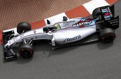 Piloto da Williams, Felipe Massa, no GP do Mônaco. 23/05/2015 REUTERS/Max Rossi