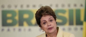 Presidente Dilma Rousseff em Brasília. 20/05/2015 REUTERS/Ueslei Marcelino