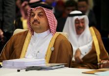 Chanceler do Catar, Khaled al-Attiyah, em foto de arquivo. 26/03/2015  REUTERS/Thomas Hartwell/Pool