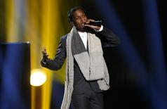 A$AP Rocky performs during the 42nd American Music Awards in Los Angeles, California November 23, 2014.   REUTERS/Mario Anzuoni