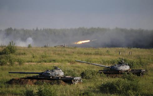 Russia's military might