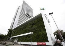 Sede da Odebrecht em São Paulo. 14/11/2014 REUTERS/Paulo Whitaker