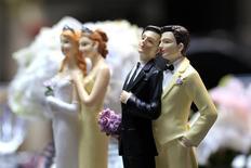 La Cour suprême du Texas, un Etat où le mariage homosexuel est interdit par la constitution, a confirmé vendredi le jugement de divorce de deux homosexuelles. /Photo d'archives/REUTERS/Gonzalo Fuentes