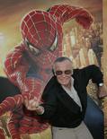 Stan Lee, criador do Homem-Aranha. 22/06/2014 REUTERS/Fred Prouser