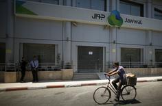Sede da Jawwal fechada na Cidade de Gaza. 30/06/2015 REUTERS/Mohammed Salem