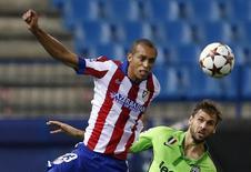 Miranda em partida do Atlético de Madri contra a Juventus pela Liga dos Campeões. 01/10/2014  REUTERS/Sergio Perez