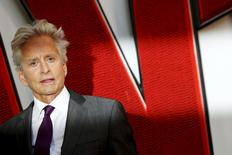 "Actor Michael Douglas arrives for the European premiere of ""Ant-Man"" at Leicester Square in London, Britain July 8, 2015. REUTERS/Luke MacGregor"