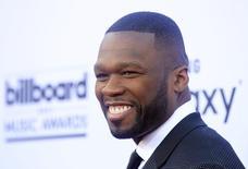 Rapper 50 Cent chega para o Billboard Music Awards 2015 em Las Vegas, nos Estados Unidos. 17/05/2015 REUTERS/L.E. Baskow