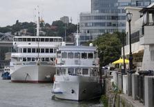 Barcos na cidade russa de Rostov-on-Don. Embarcações podem ser utilizadas como acomodação na Copa do Mundo de 2018 no país. 14/07/2015  REUTERS/Maxim Shemetov