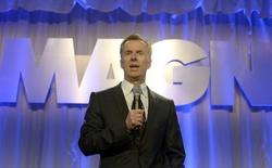 Magna CEO Don Walker speaks during the company's Annual Shareholder Meeting in Toronto, May 8, 2014. REUTERS/Aaron Harris