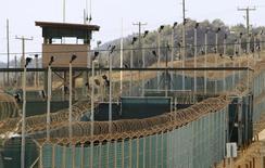 Lado externo do Campo Delta, na base naval da Baía de Guantánamo, em Cuba. 06/03/2013 REUTERS/Bob Strong
