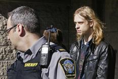 Randall Steven Shepherd leaves court in Halifax, Nova Scotia, Canada, March 6, 2015. REUTERS/Darren Pittman
