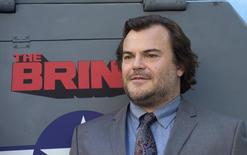 """Cast member Jack Black attends the premiere of the HBO comedy series """"The Brink"""" in Los Angeles June 8, 2015. REUTERS/Phil McCarten"""
