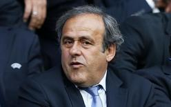 UEFA president Michel Platini in the stands Action Images via Reuters / Carl Recine Livepic