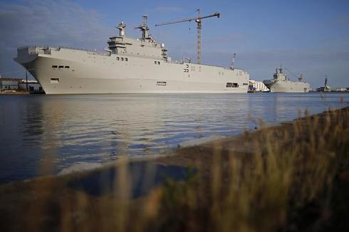 France, Russia reach Mistral compensation deal: RIA