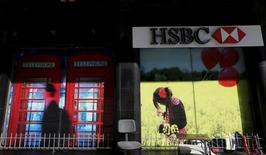 Filial do HSBC no Rio de Janeiro.   09/06/2015   REUTERS/Sergio Moraes