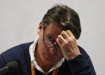 Athletics - IAAF Diamond League 2015 - Sainsbury's Anniversary Games - Queen Elizabeth Olympic Park, London, England - 24/7/15 British politician and former athlete Sebastian Coe talks to the media Action Images via Reuters / Matthew Childs Livepic