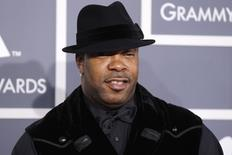 Busta Rhymes arrives at the 54th annual Grammy Awards in Los Angeles, California February 12, 2012.   REUTERS/Danny Moloshok