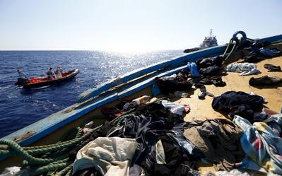 Migrant rescue off Libyan coast
