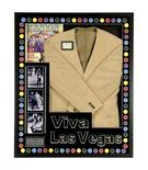 """The jacket which Elvis Presley wore in the film """"Viva Las Vegas"""" during his legendary dance scene with Ann-Margret, expected to go for an estimated $30,000 to $50,000 at auction, is seen in a photo provided by Elvis Presley Enterprises in Memphis, Tennessee August 13, 2015. REUTERS/Elvis Presley Enterprises/Handout"""