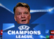 Técnico do Manchester,  Louis van Gaal  17/8/2015 REUTERS / Jason Cairnduff Livepic