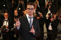 "Jury member director Nicolas Winding Refn pose on the red carpet as he arrives for the screening of the film ""Captives"" (The Captive) in competition at the 67th Cannes Film Festival in Cannes May 16, 2014. REUTERS/Yves Herman"