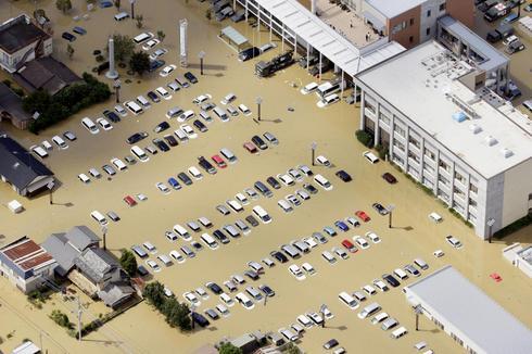 Massive flooding in Japan