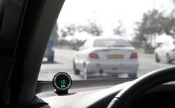 La plate-forme de covoiturage BlaBlaCar a levé 200 millions de dollars (environ 177 millions d'euros) afin d'accélérer son développement, notamment dans les pays émergents en Asie et en Amérique latine. /Photo d'archives/REUTERS/Baz Ratner