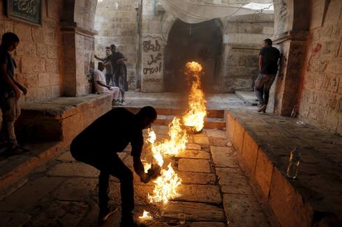 Days of clashes in Jerusalem