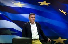 Ex-ministro das Finanças da Grécia Euclid Tsakalotos durante evento em Atenas. 28/08/2015   REUTERS/Alkis Konstantinidis
