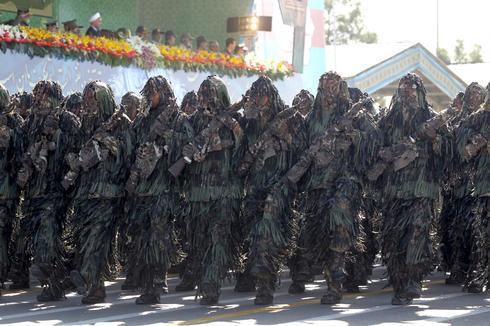 Iran's military on parade