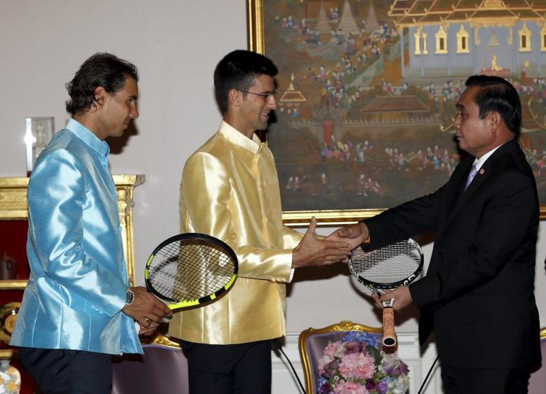 Nadal, Djokovic meet Thai PM, visit deadly bomb site