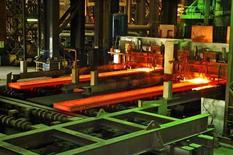 Foto de archivo que muestra una línea de producción de acero en la planta de Sidor en Puerto Ordaz, sin fecha. REUTERS/Sidor/Cortesía (VENEZUELA).  SOLO PARA USO EDITORIAL, NO PARA VENTA O MERCADEO O CAMPAÑAS PUBLICITARIAS