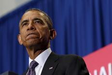 Presidente dos Estados Unidos, Barack Obama.  04/10/2015   REUTERS/Jonathan Ernst