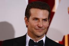 """Bradley Cooper, best actor nominee for his role in """"American Sniper,"""" arrives at the 87th Academy Awards in Hollywood, California February 22, 2015. REUTERS/Lucas Jackson"""