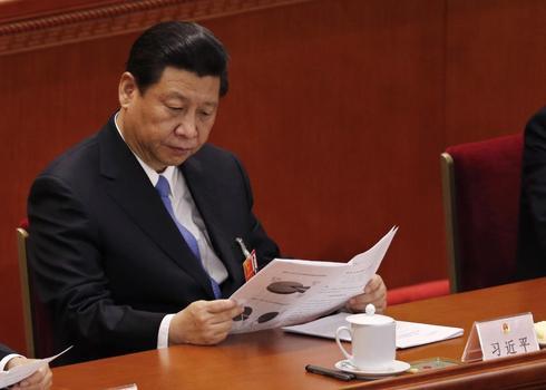 Xi Jinping in focus